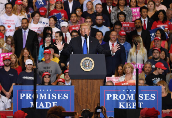 Trump Says June 19 Rally Date Wasn't Chosen on Purpose