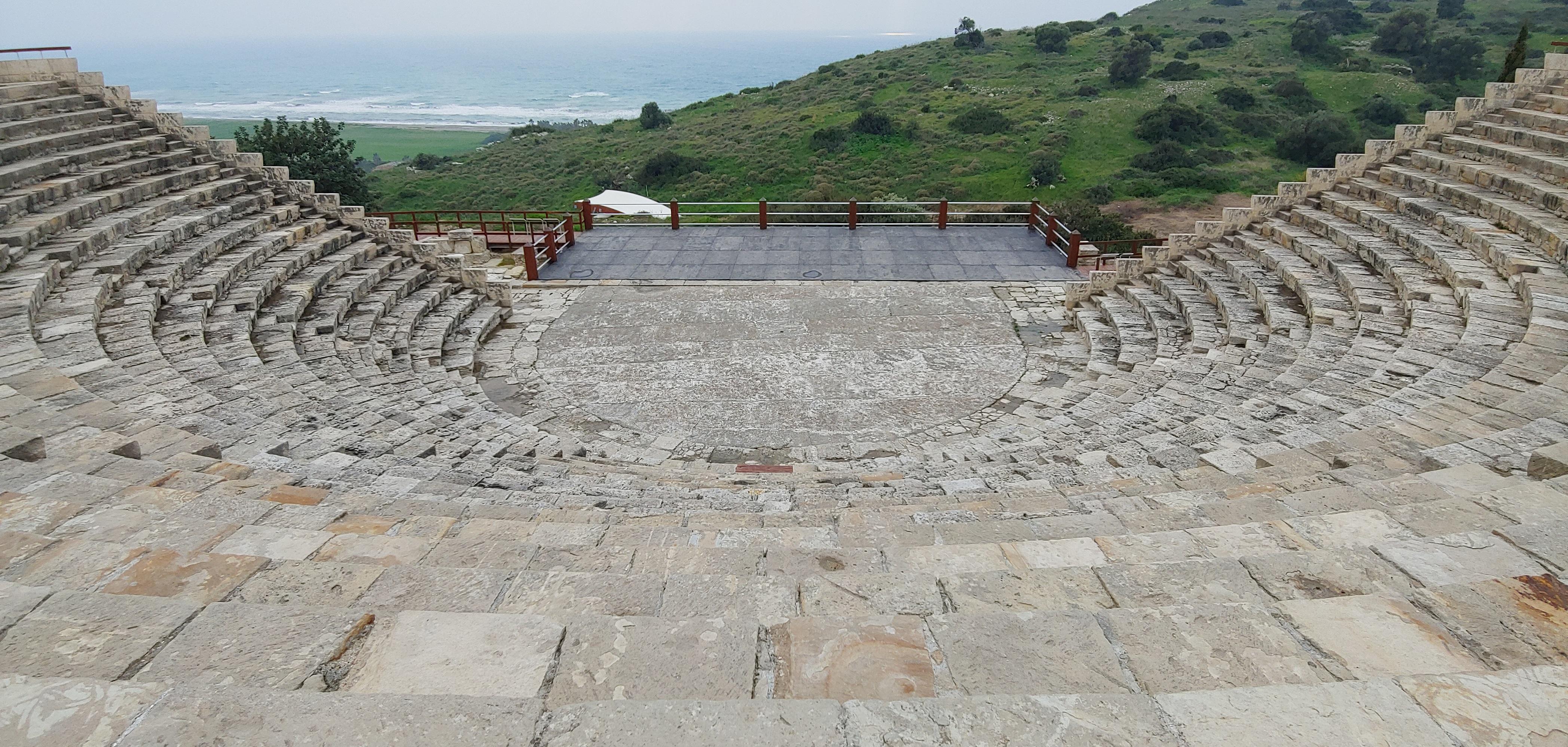 amphi theatre Kourion