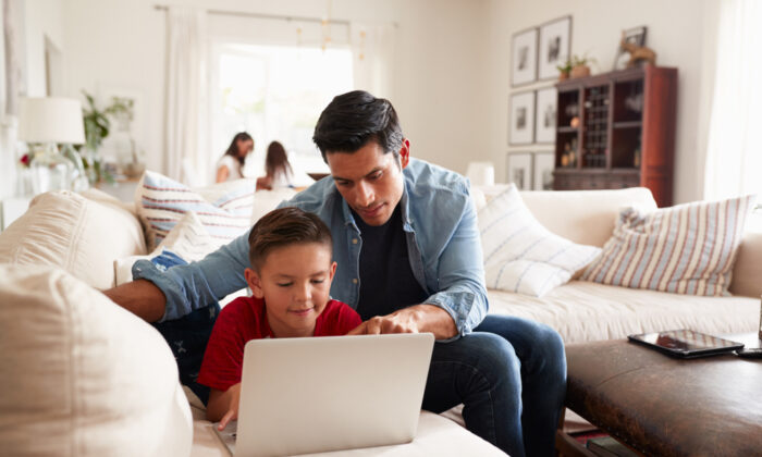 Online resources such as Khan Academy offer an array of free lessons for different grade levels. (Monkey Business Images)