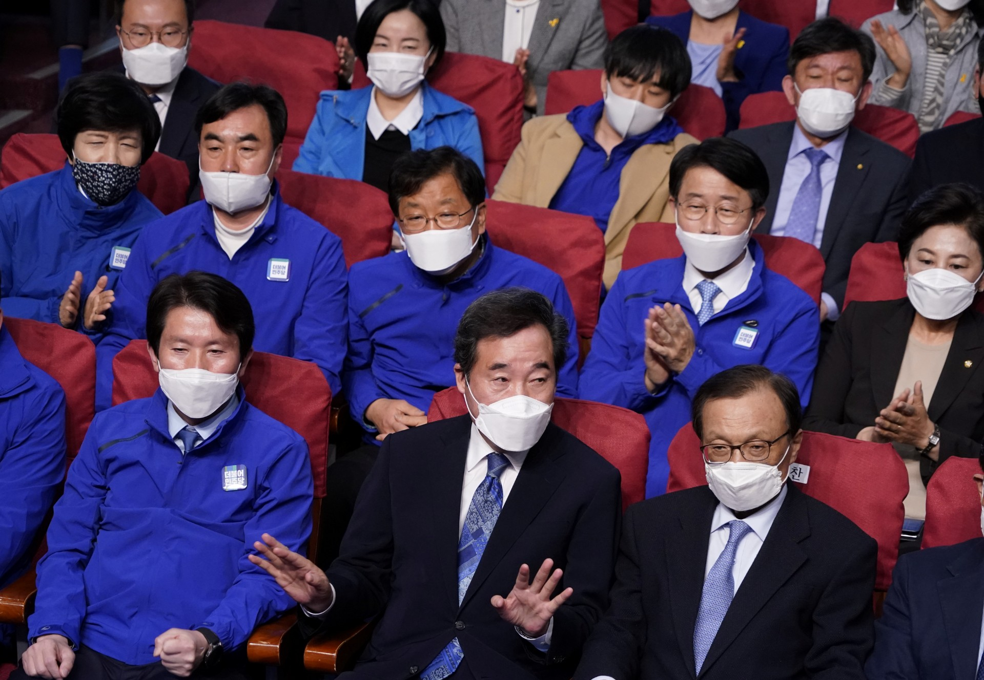 SOUTHKOREA-ELECTION-REAX-CCP VIRUS