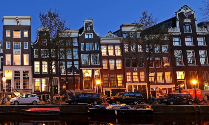 A view of houses in Amsterdam. (Dean Mouhtaropoulos/Getty Images)