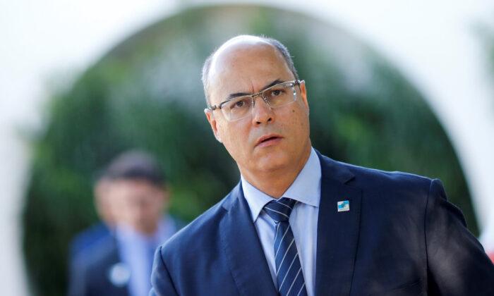 File photo of Rio de Janeiro's Governor Wilson Witzel in Brasilia, Brazil May 8, 2019. (Reuters/Adriano Machado)