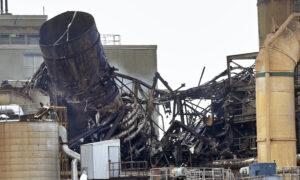 Explosion Caught on Video Shatters Paper Mill, No One Hurt