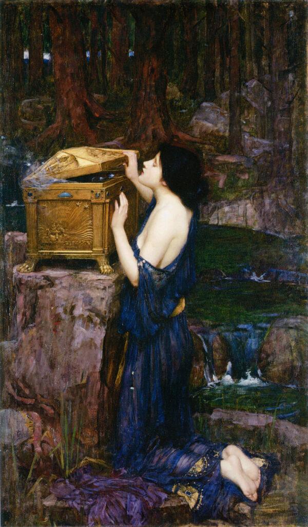 John_William_Waterhouse_-_Pandora,_1896