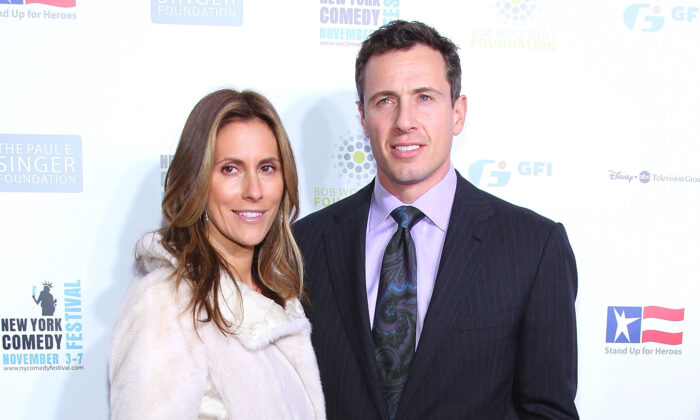 Chris Cuomo (R) and wife Cristina Greeven Cuomo, Chris Cuomo attend Stand Up For Heros presented by the New York Comedy Festival and the Bob Woodruff Foundation at The Beacon Theatre in New York City on Nov. 3, 2010. (Mike Coppola/Getty Images)