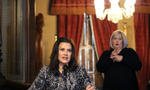 Michigan Gov. Whitmer Extends Stay-at-Home Order Until End of the Month