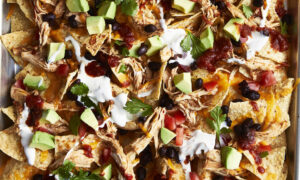Cilantro Lime Chicken Nachos