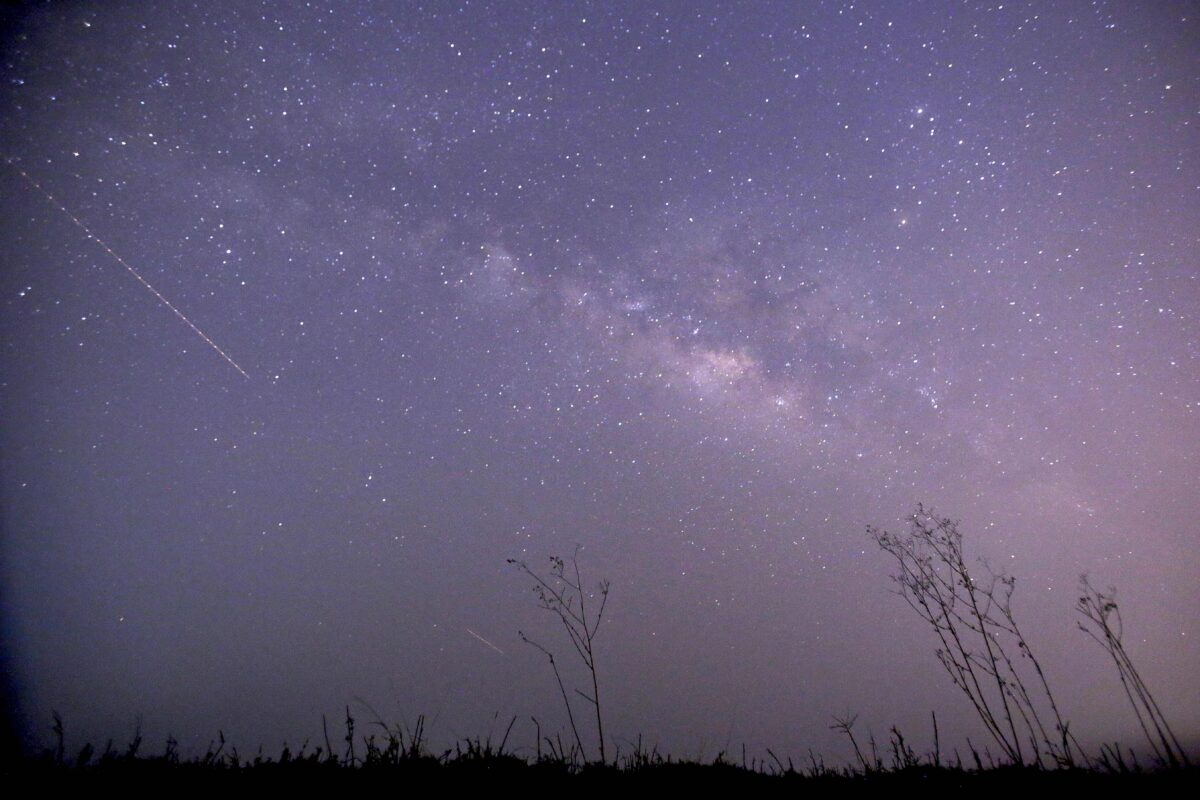 Keep an eye on the sky for shooting stars this week