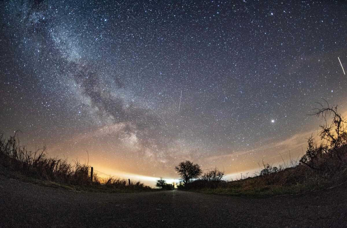 Where to see the meteor shower tonight?