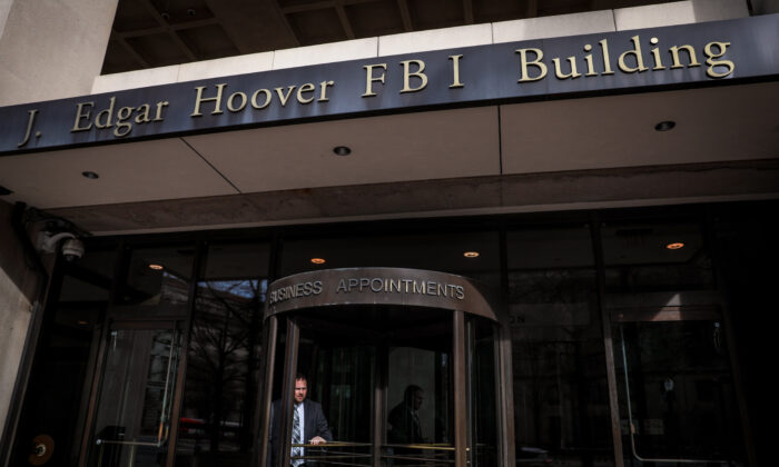 The Federal Bureau of Investigation (FBI) Headquarters in Washington on Jan. 2, 2020. (Samira Bouaou/The Epoch Times)