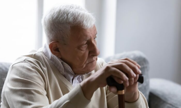 Depression and dementia are so closely tied together that sometimes one is misdiagnosed for the other. (fizkes/Shutterstock)