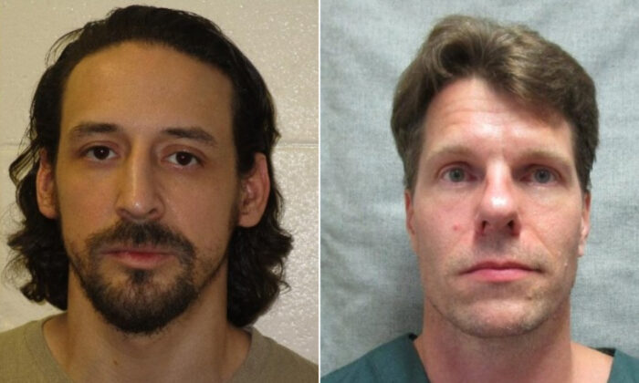 James Robert Newman (R), 37, and Thomas E. Deering (R), 46. (Columbia County Sheriff's Office)