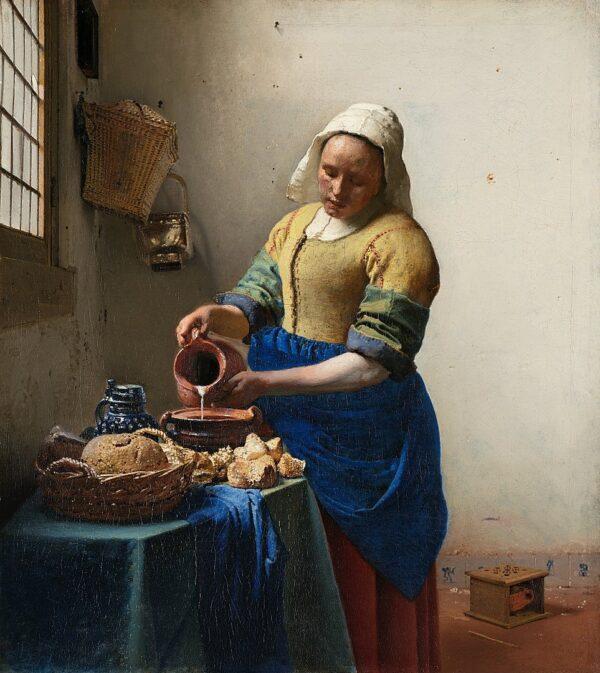 Johannes_Vermeer The Milkmaid