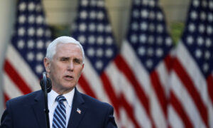 Pence Says US Has Enough Tests for Phase 1 of Reopening