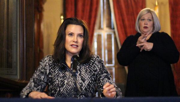 Gov. Whitmer signs three executive orders regarding state of emergency