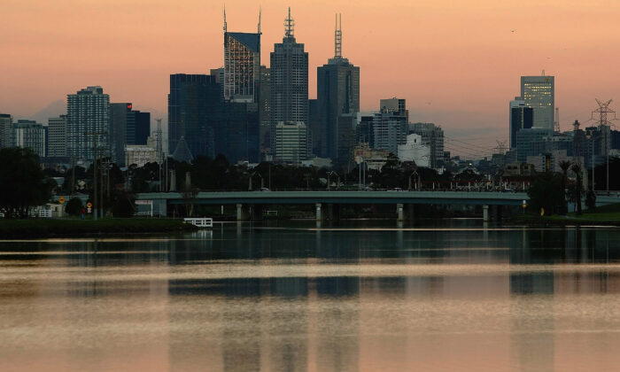 A general view of the city of Melbourne. June 4, 2007 in Melbourne, Australia.  ( Mark Dadswell/Getty Images)