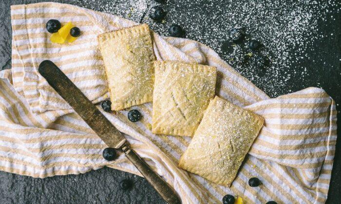 Homemade Pop-Tarts with lemon-blueberry filling. (Matt Genders Photography)