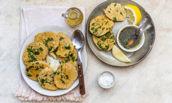 A summery tuna loaf served with a bright lemon-parsley dressing. (Giulia Scarpaleggia)