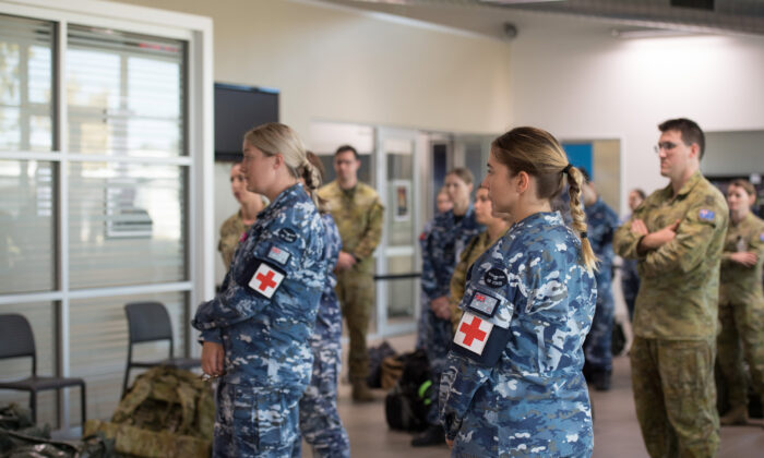 Australian Defence Force medical and scientific personnel. © Commonwealth of Australia 2020