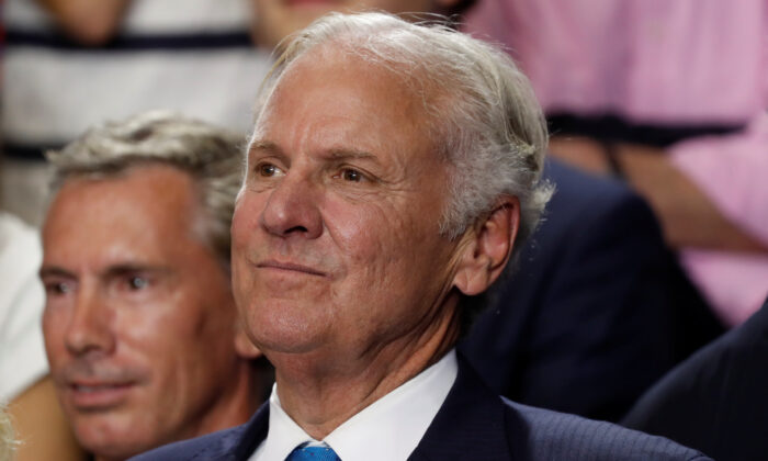 South Carolina Gov. Henry McMaster looks on at a rally in Columbia, S.C., on June 25, 2018. (Kevin Lamarque/Reuters)