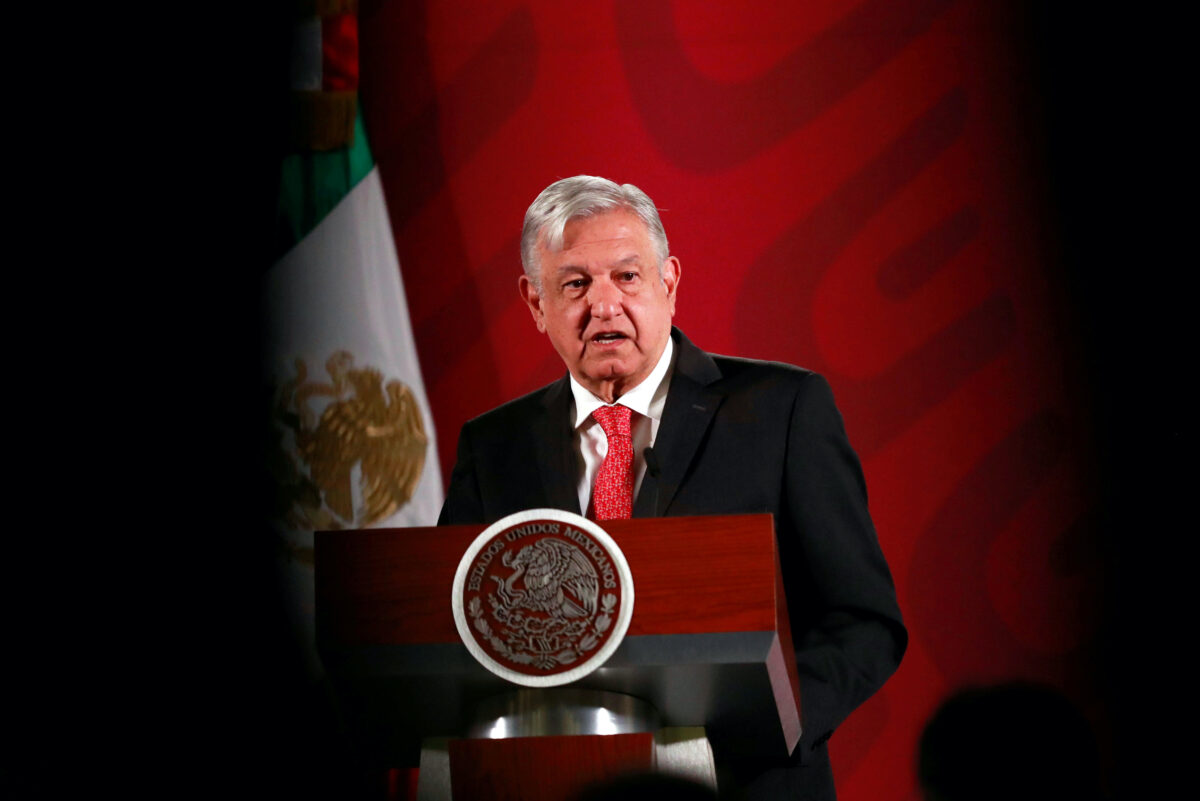 FILE PHOTO: Mexico's President Obrador