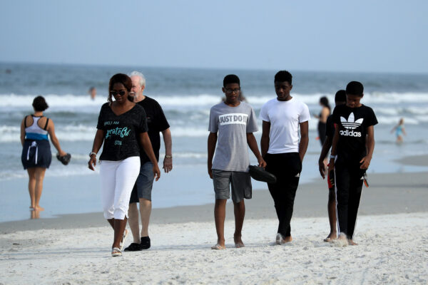 Jacksonville, Florida Re-Opens Beaches After Decrease In COVID-19 Cases