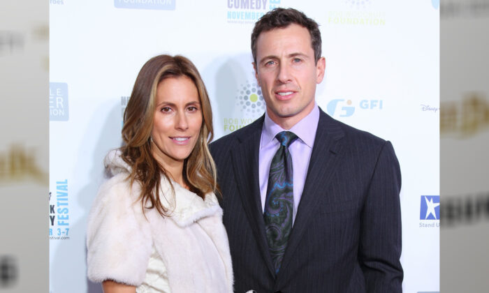 Chris Cuomo (R) and wife Cristina Greeven Cuomo attend Stand Up For Heros at the New York Comedy Festival in The Beacon Theatre in New York City on Nov. 3, 2010. (Mike Coppola/Getty Images)