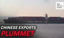 Chinese Exports Plummet During CCP Virus Pandemic