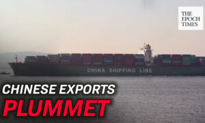 Chinese Exports Plummet During CCP Virus Pandemic
