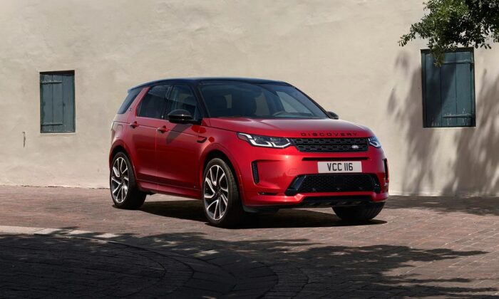 2020 Land Rover Discovery Sport. (Courtesy of Land Rover)