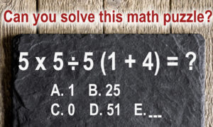 Homeschooling Math Puzzle: This Tricky Problem Is Not As Simple As It Looks! Can You Solve It?