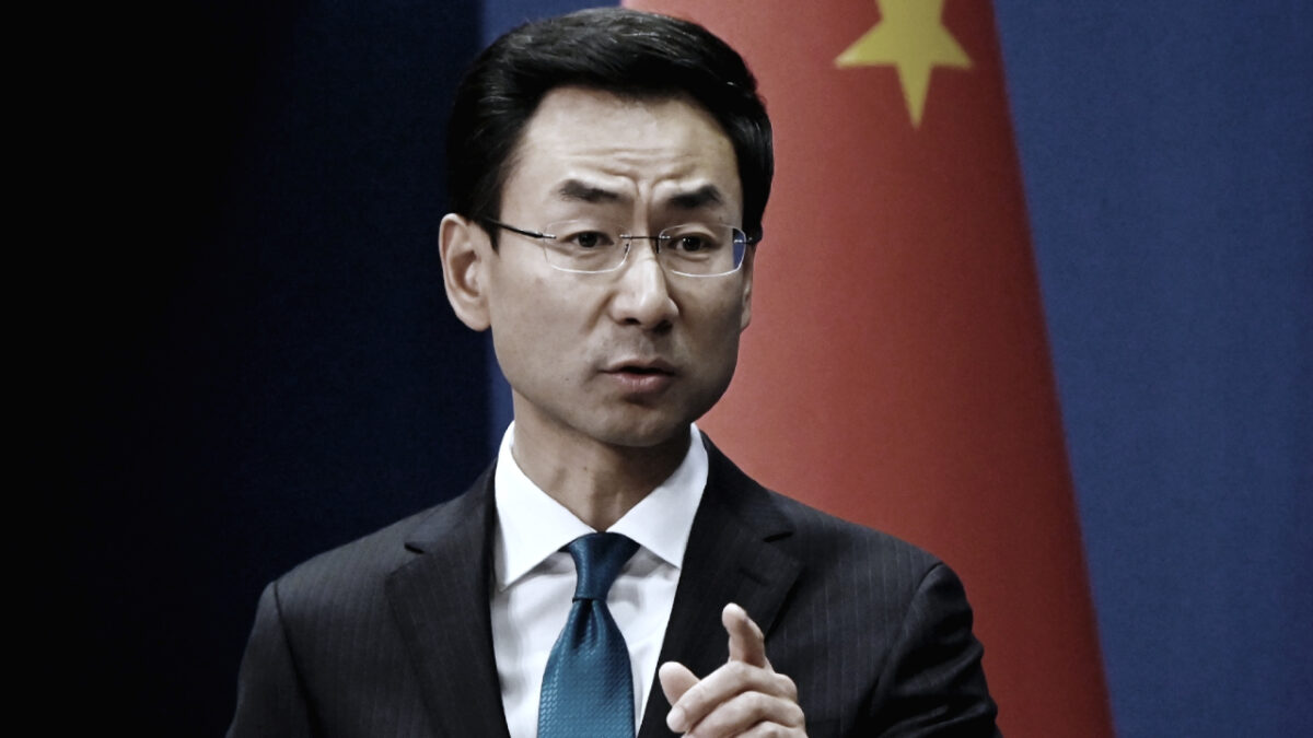 China foreign ministry spokesman