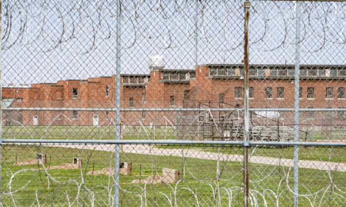 The exterior of the Marion Correctional Institution in Marion, Ohio, on April 22, 2020. (Dane Rhys/Reuters)