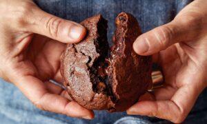 Double Chocolate Rye Cookies