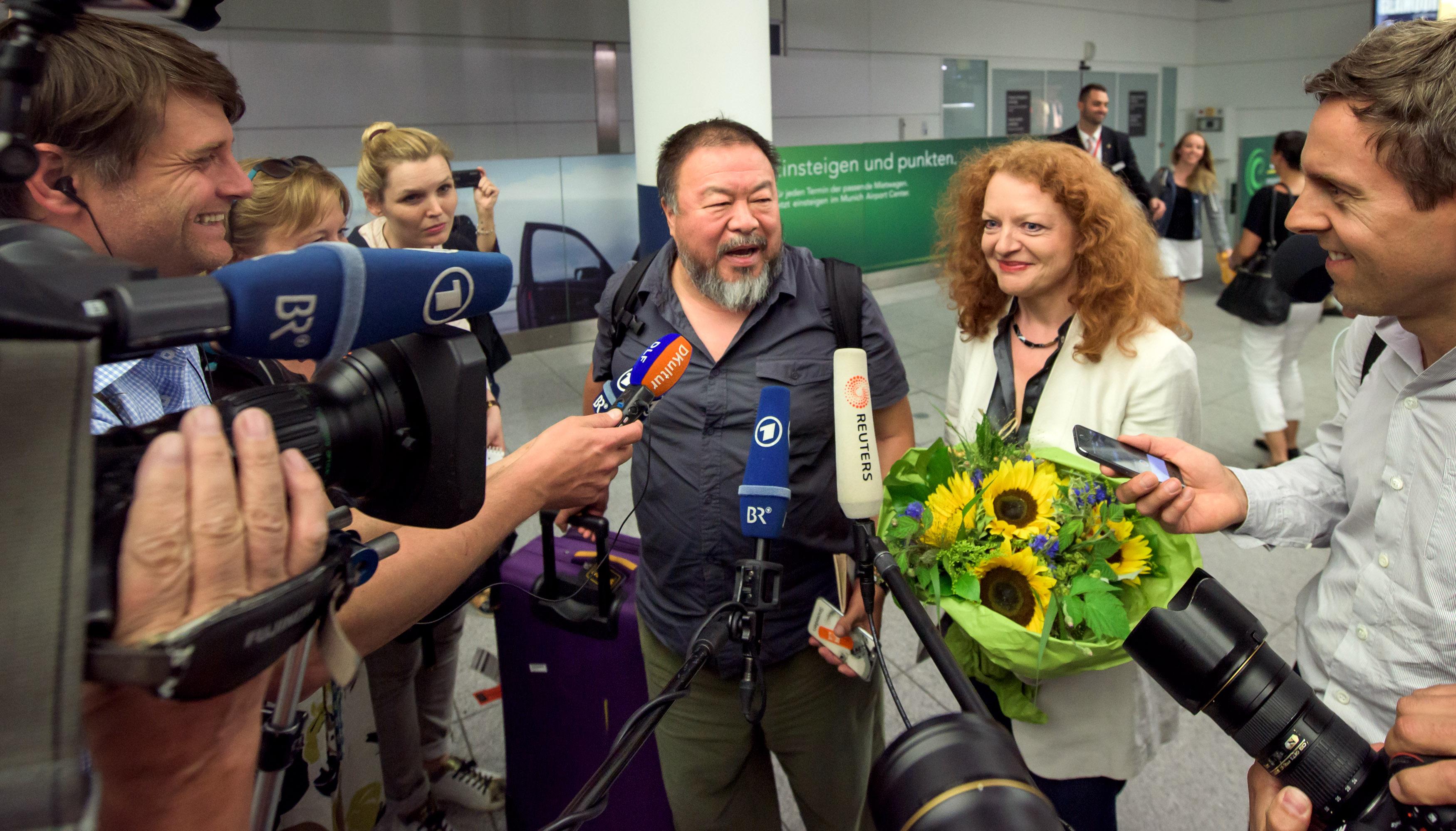Ai Weiwei Margarete Bause