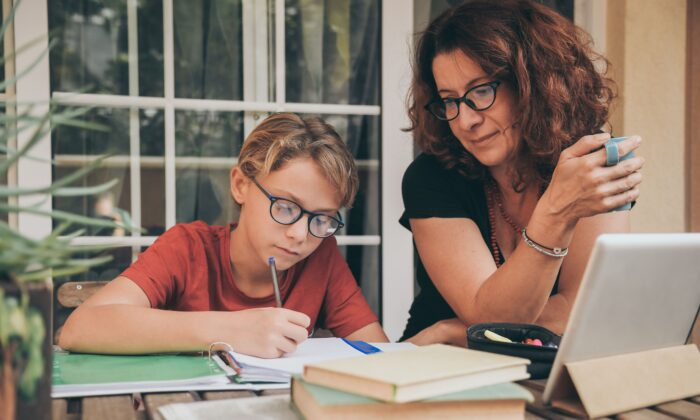 During the lockdown, parents' assumption about what their children should be learning doesn't necessarily align with what they are learning. (Fabio Principe/Shutterstock)