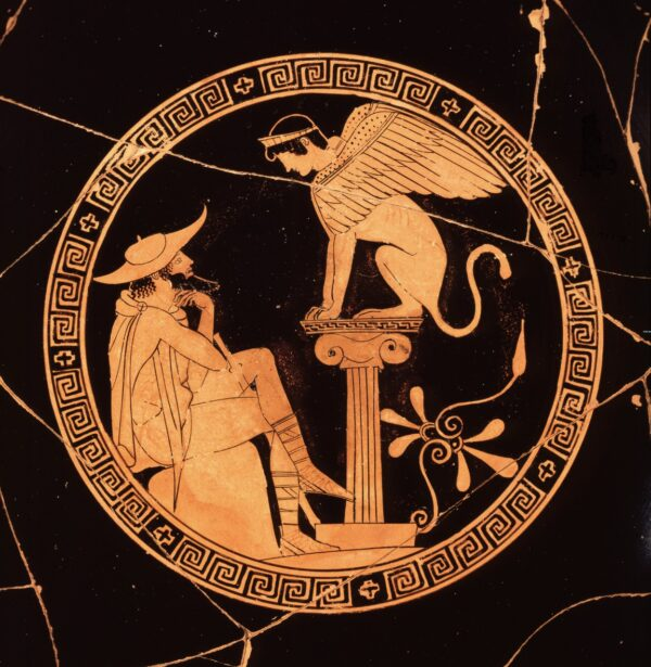 Oedipus on Kylix