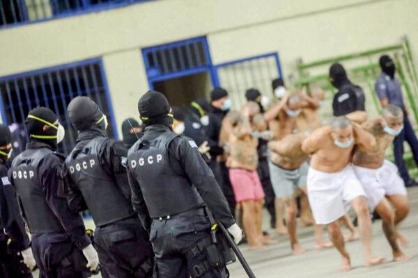 Gang members El Salvado