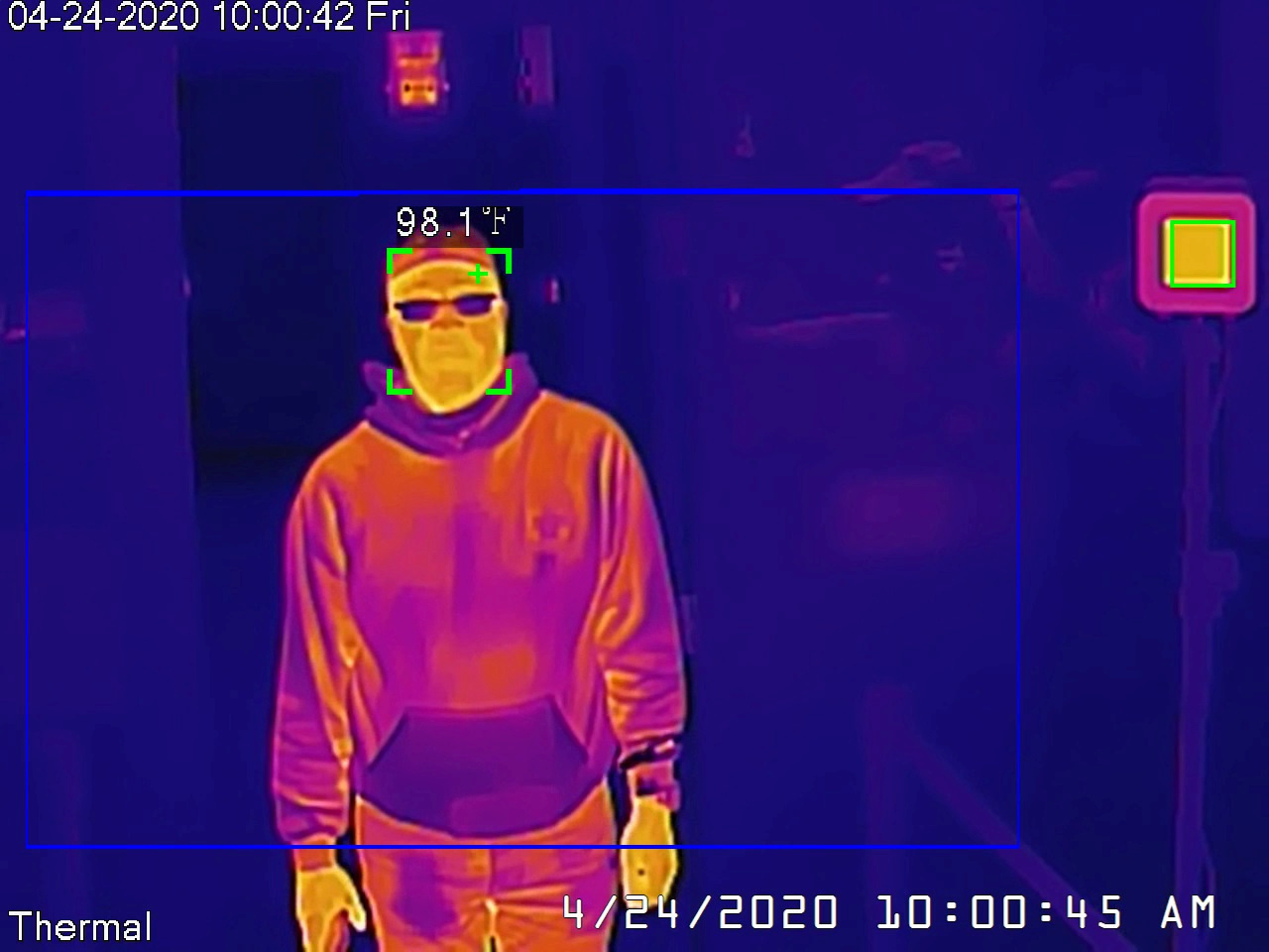 Dahua thermal camera