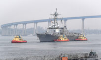 Virus-Hit Navy Destroyer Pulls Into Port, but All 90 Ships at Sea Are COVID-19-Free
