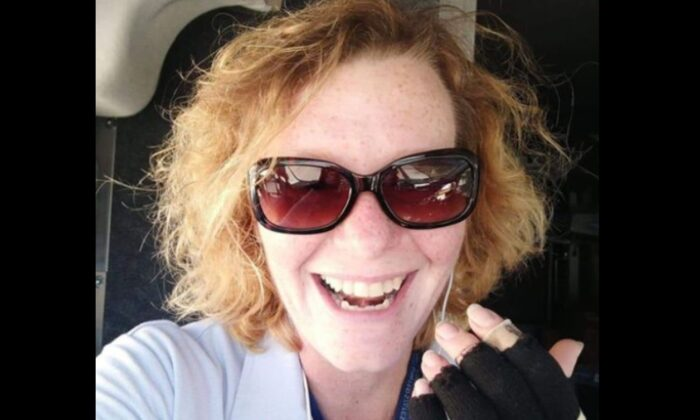 Angela Summers in an undated selfie photo (Facebook / selfie)