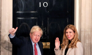 Boris Johnson's Son Named After Doctors Who Saved PM's Life