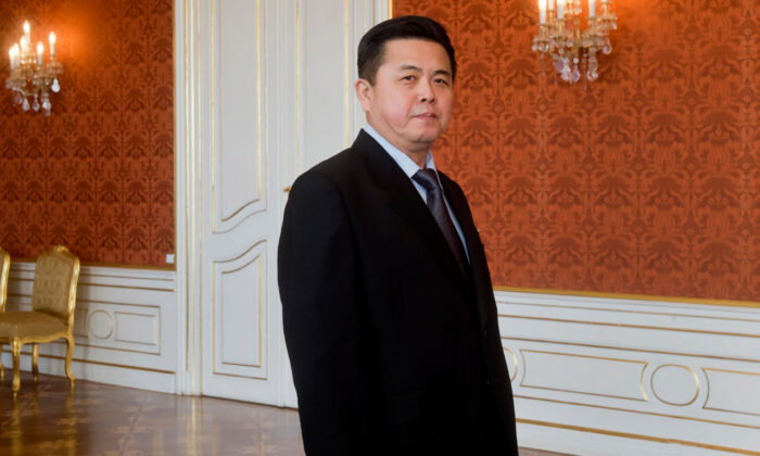 Kim Pyong Il in a file photo. (Frantisek Vlcek/ISIFA/SIPA via The Associated Press)