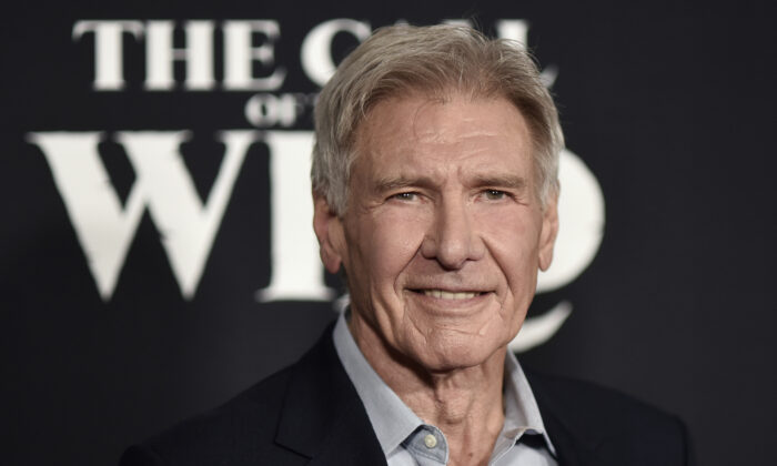 "Harrison Ford attends the premiere of ""The Call of the Wild"" in Los Angeles, Calif., on Feb. 13, 2020. (Richard Shotwell/Invision/AP)"