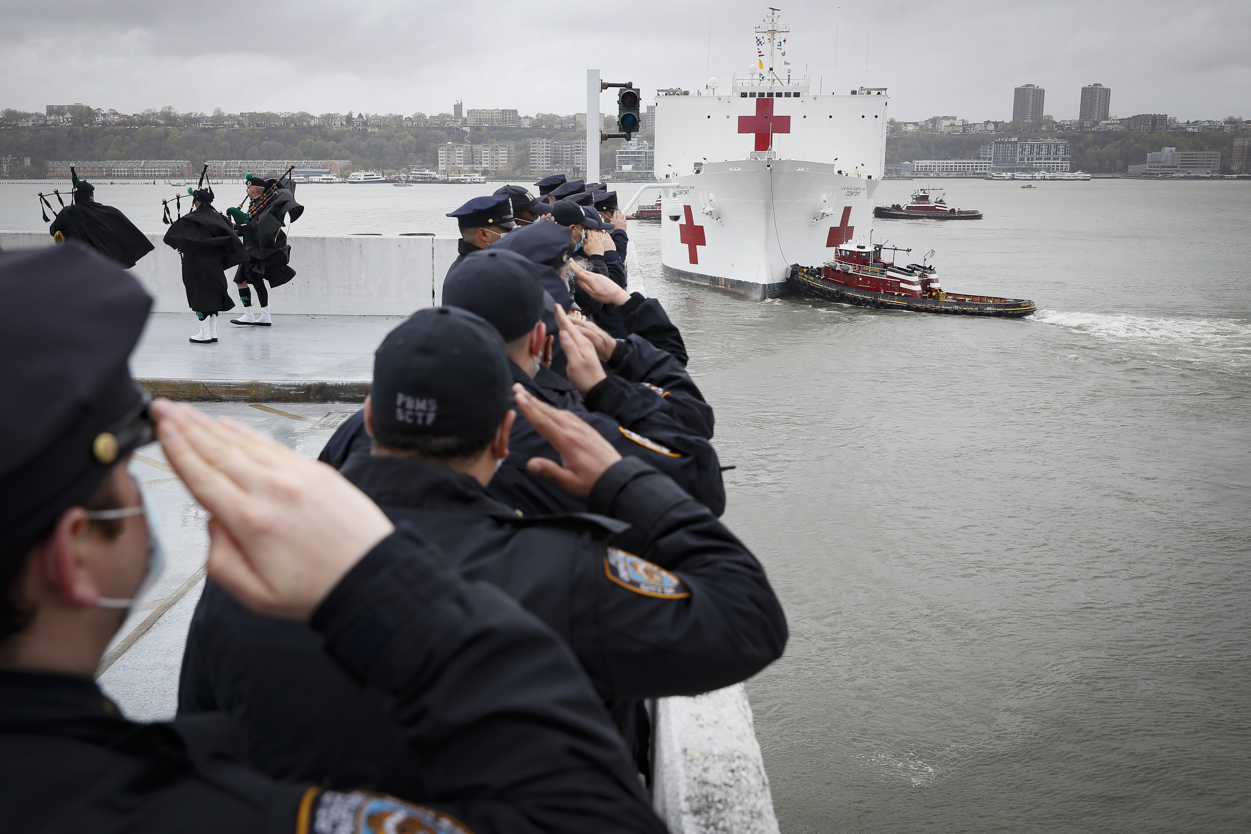 USNS Naval Hospital Ship Comfort