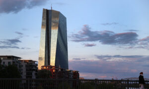 With European Economy in Record Drop, Central Bank Steps Up Aid
