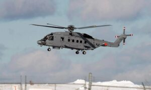 Search Ongoing for Canadian Military Helicopter That Crashed in the Mediterranean