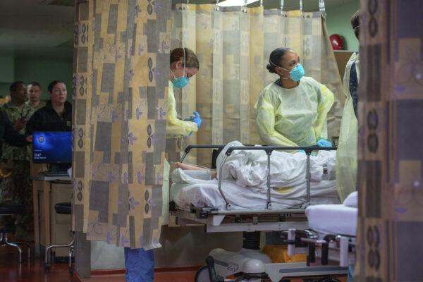 Virus Outbreak Hospital Ship Few Patients