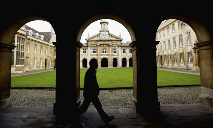 Cambridge University in Cambridge, England, in a file photo. (Graeme Robertson/Getty Images)