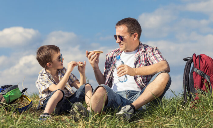 Lunch is one of the most immediately obvious improvements when one goes from school to homeschool. The cafeteria can be your kitchen table, your backyard table, the backseat of the car on the way to somewhere delightful, or a picnic table at the park (altanaka/Shutterstock)